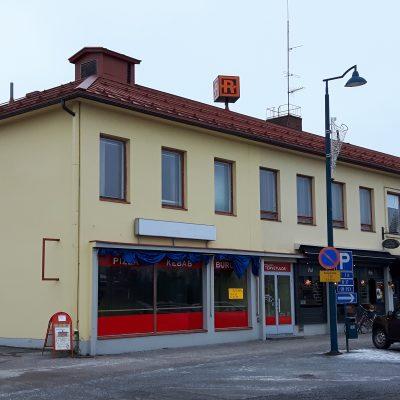 Rukouksen talon toimitilat ovat toisessa kerroksessa.